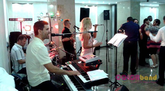 Bástya Hotel esküvő Colorband zenekar