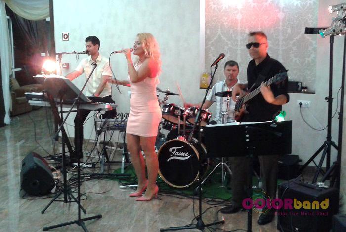 Esküvő Miskolctapolca Colorband zenekar