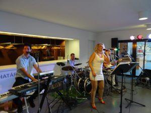 Pécs-Zsolnay Negyed fellépés Colorband zenekar