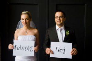 Móni & Tibi férj és feleség
